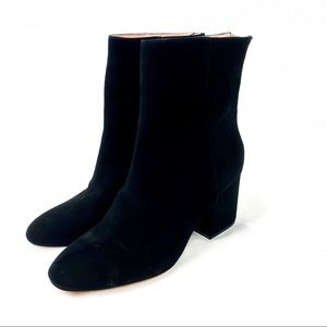 J. Crew Sadie Ankle Boots in Suede